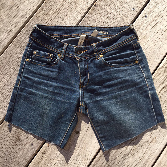 IMG 7866 - Tuto : faire un short en jean