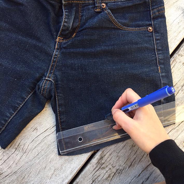 IMG 7870 - Tuto : faire un short en jean