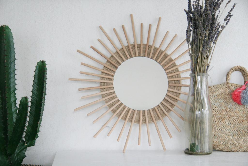 miroir soleil - 15 idées de cadeaux à réaliser soi-même