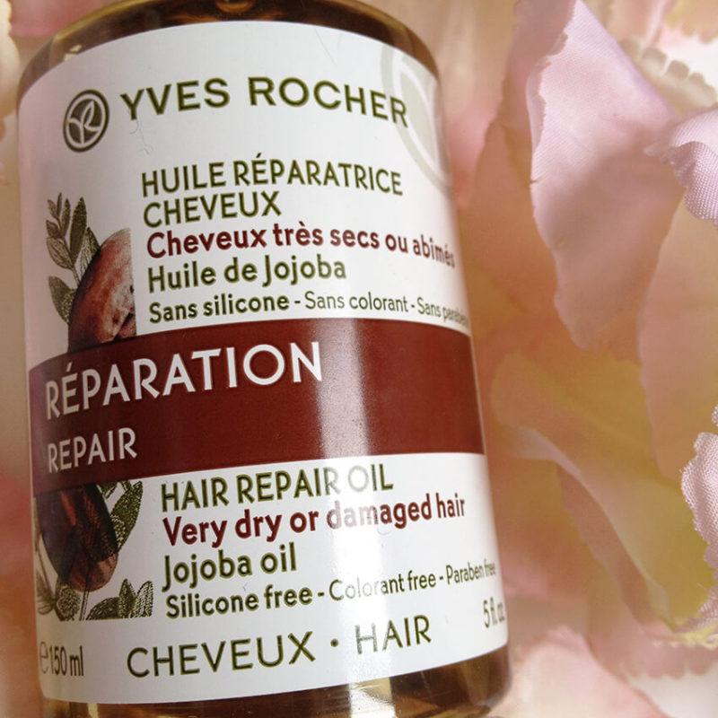 huile cheveux yves rocher1 800x800 - FLOP : l'huile réparatrice pour les cheveux d'Yves Rocher