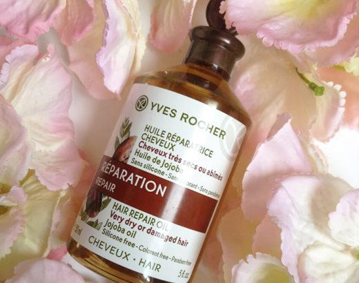 FLOP : l'huile réparatrice pour les cheveux d'Yves Rocher