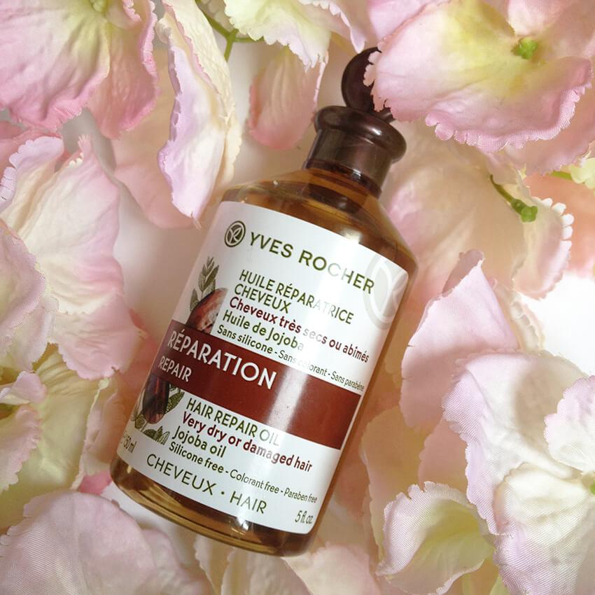 huile cheveux yves rocher2 - FLOP : l'huile réparatrice pour les cheveux d'Yves Rocher