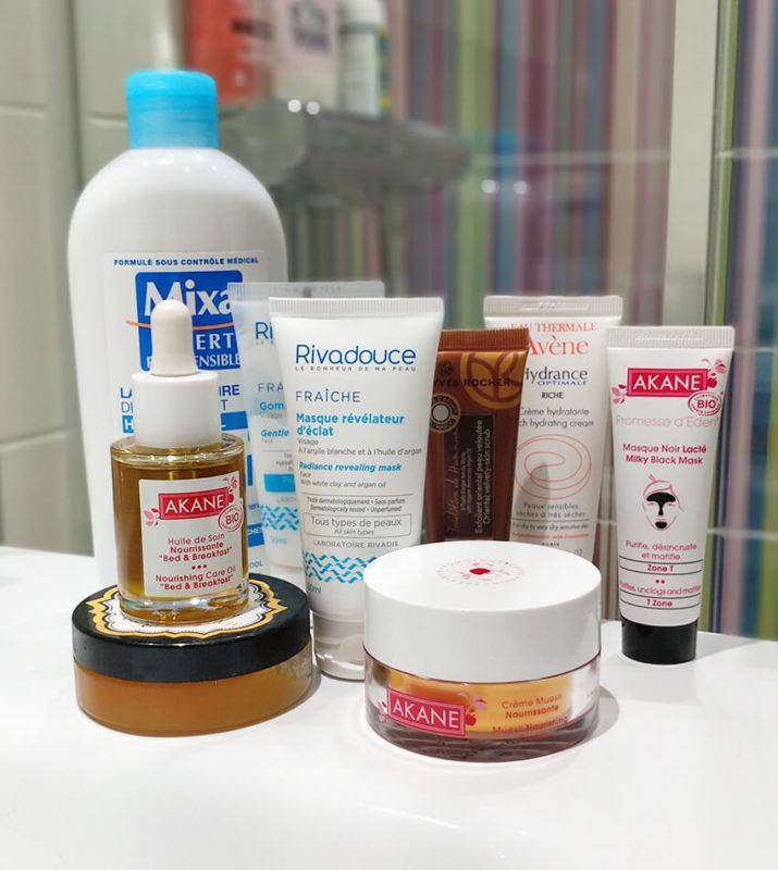 produit soin visage 715x800 - Mes conseils pour avoir une jolie peau