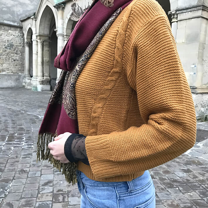 pull jaune moutarde6 - Jolie couleur moutarde