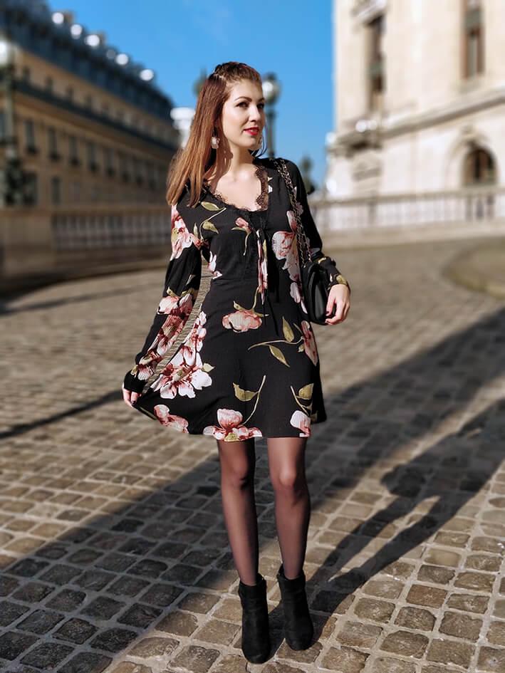 robe fleurs dentelle6 - La robe qui appelle le printemps