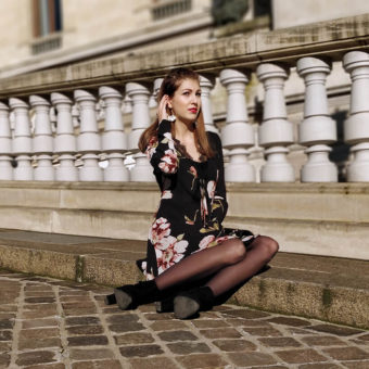 Robe tenue Paris blog blogueuse mode 19 janvier missguided