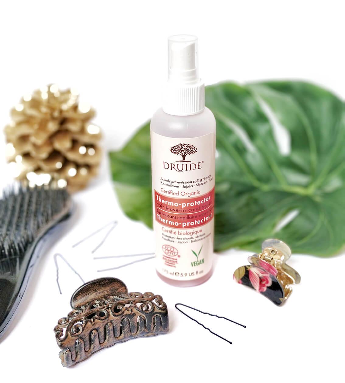 spray thermoprotecteur druide - Mes derniers tests de produits capillaires