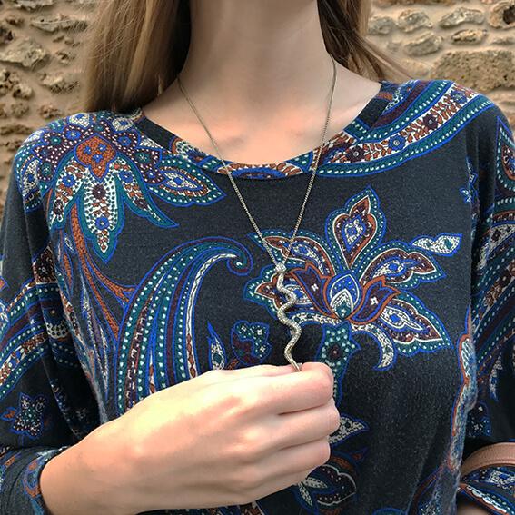 tenue robe bandeau5 - La jolie robe motif cachemire