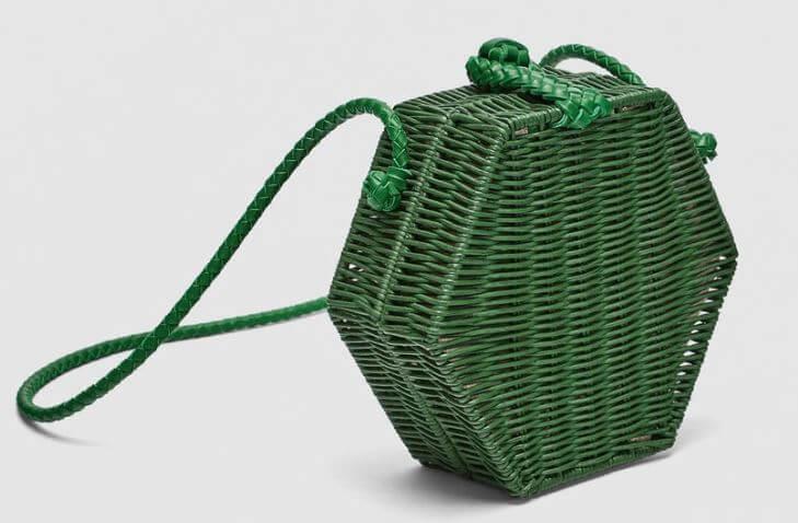 panier hexagonal zara - Quand le panier remplace le sac à main