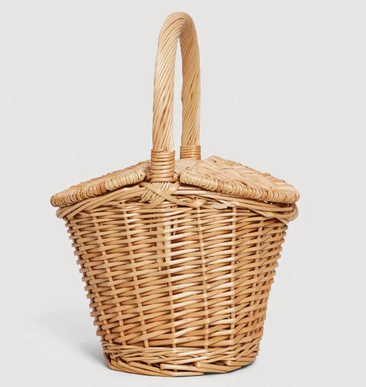 panier mango - Quand le panier remplace le sac à main