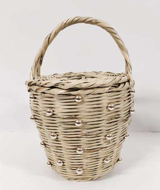 panier perles etsy - Quand le panier remplace le sac à main