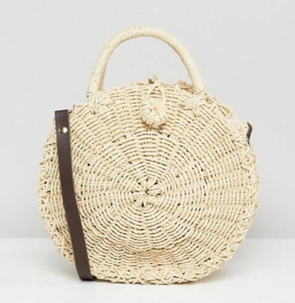 panier rond asos - Quand le panier remplace le sac à main