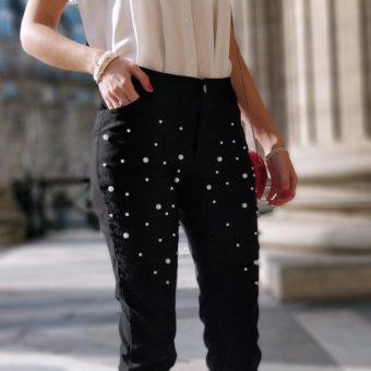 pantalon détails perles 340x340 - Des perles partout !