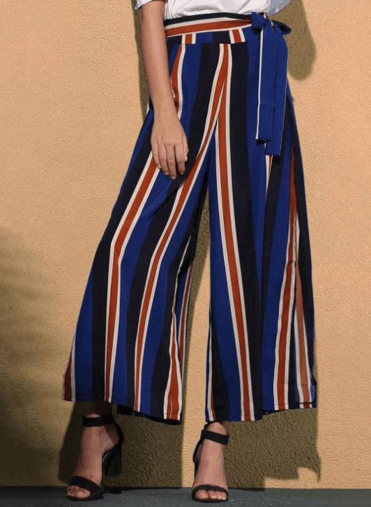 pantalon rayures - Ma sélection Zaful