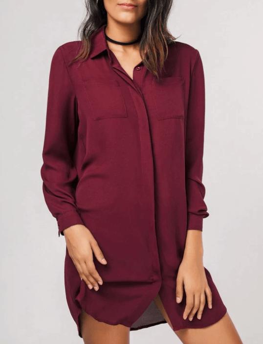 robe chemise - Ma sélection Zaful
