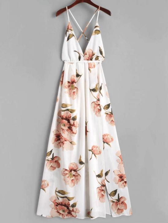 robe longue fleur - Ma sélection Zaful
