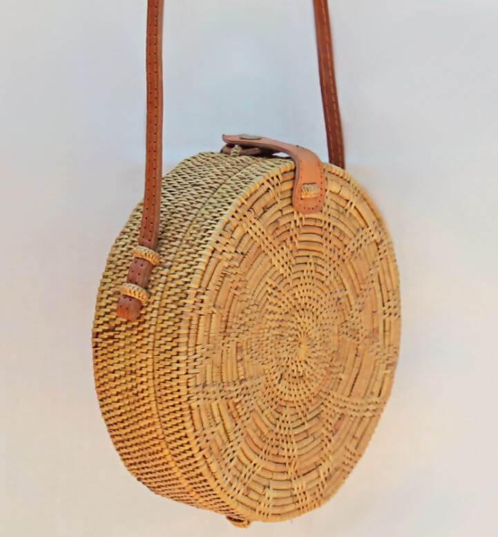 sac bali classique kita dua - Quand le panier remplace le sac à main