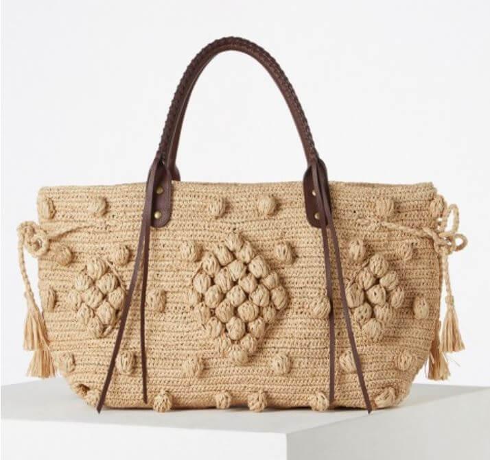 sac raphia gerard darel - Quand le panier remplace le sac à main