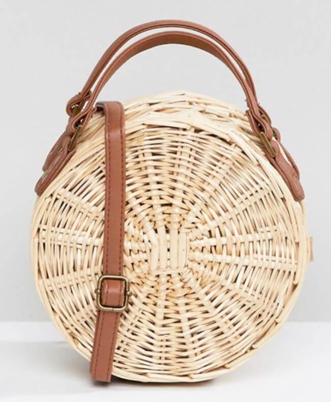 sac rond asos - Quand le panier remplace le sac à main