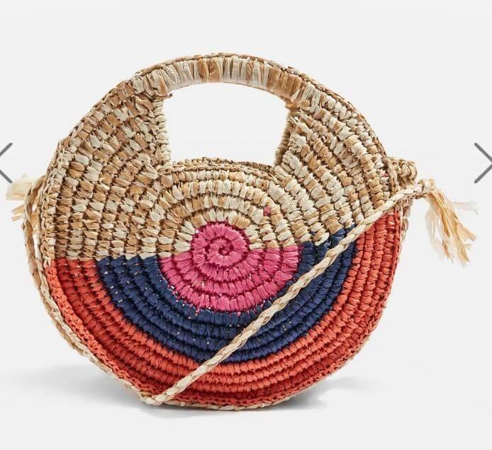 sac rond topshop - Quand le panier remplace le sac à main