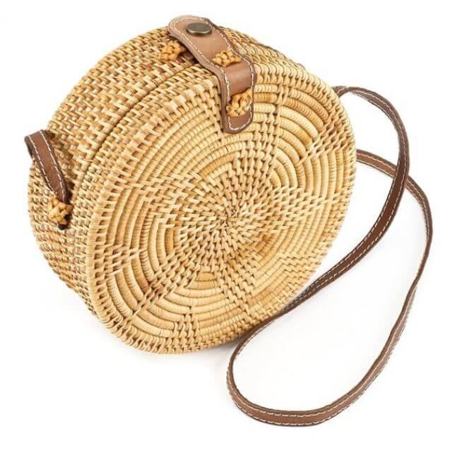 sac rotin aliexpress - Quand le panier remplace le sac à main