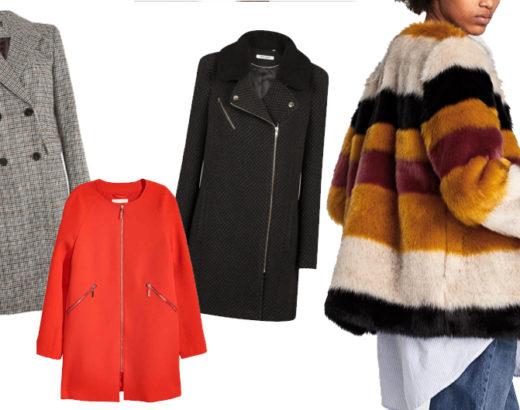 Ma sélection de manteaux