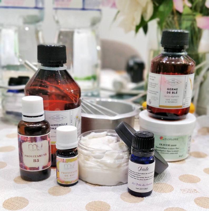 cosmétiques DIY fait main fait maison masque cheveux soin
