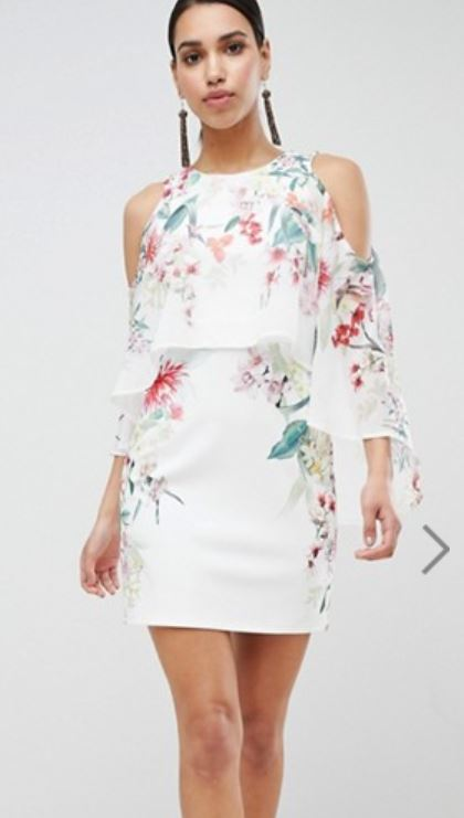 asos lipsy robe fleurs - Payer moins cher sur Asos, c'est possible !