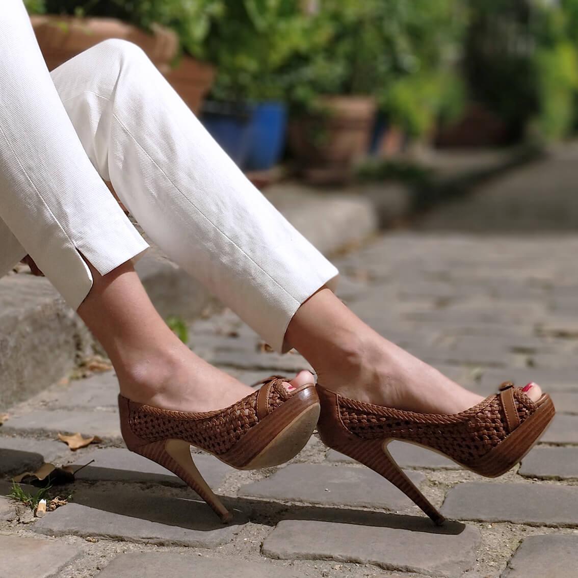 chaussures escarpins aldo plateforme talons hauts - De la verdure et du soleil