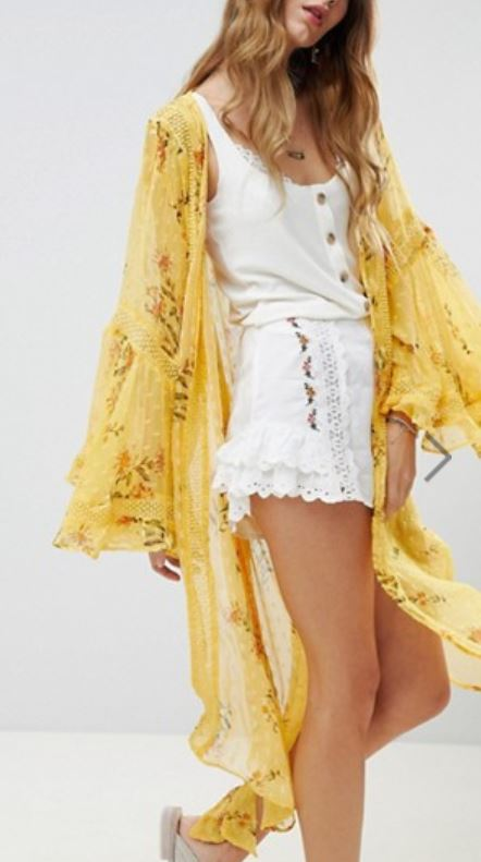 kimono jaune asos - Payer moins cher sur Asos, c'est possible !