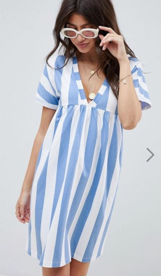 robe rayures asos - Payer moins cher sur Asos, c'est possible !