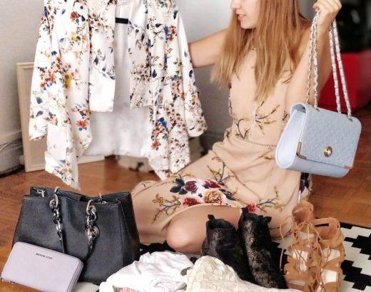 Préparer un vide-dressing