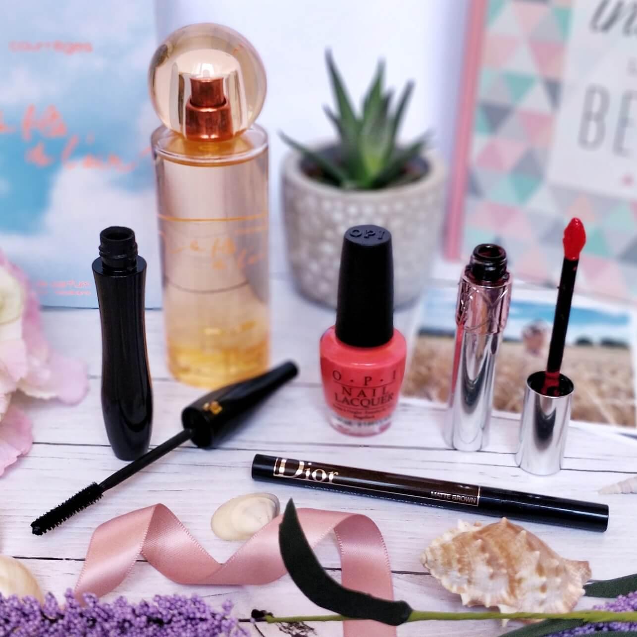 maquillage parfum dior lancome ysl courreges parfumerie burdin - Un maquillage frais pour l'été avec la Parfumerie Burdin