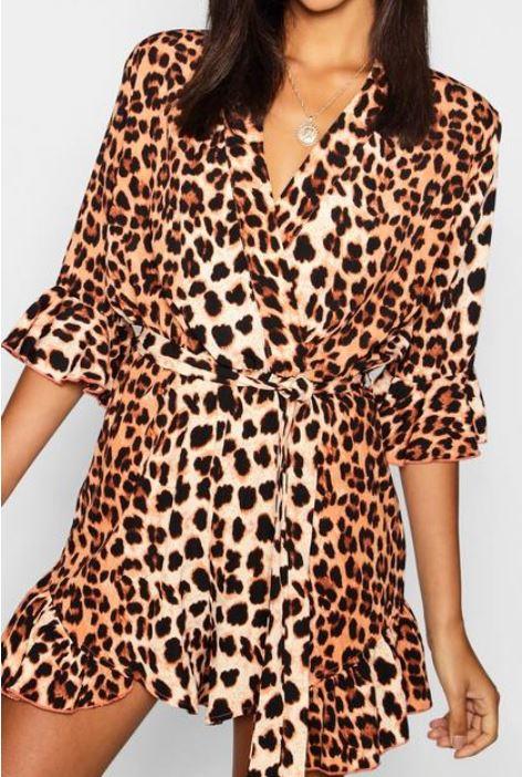 combishort boohoo - Toujours plus de léopard