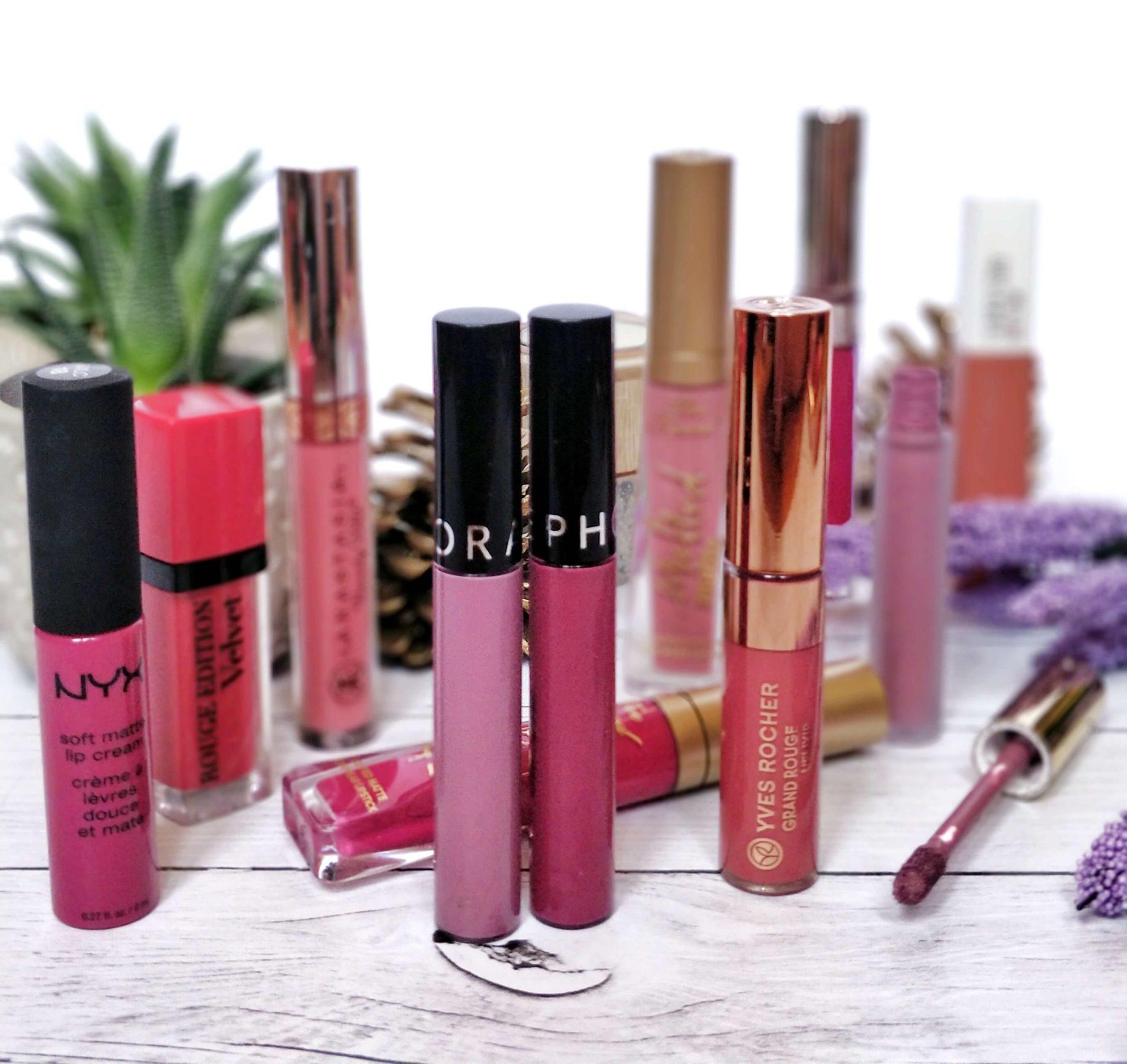 avis rouge à lèvres liquide blog beauté 1900x1792 - Je teste une quarantaine de rouges à lèvres liquides !