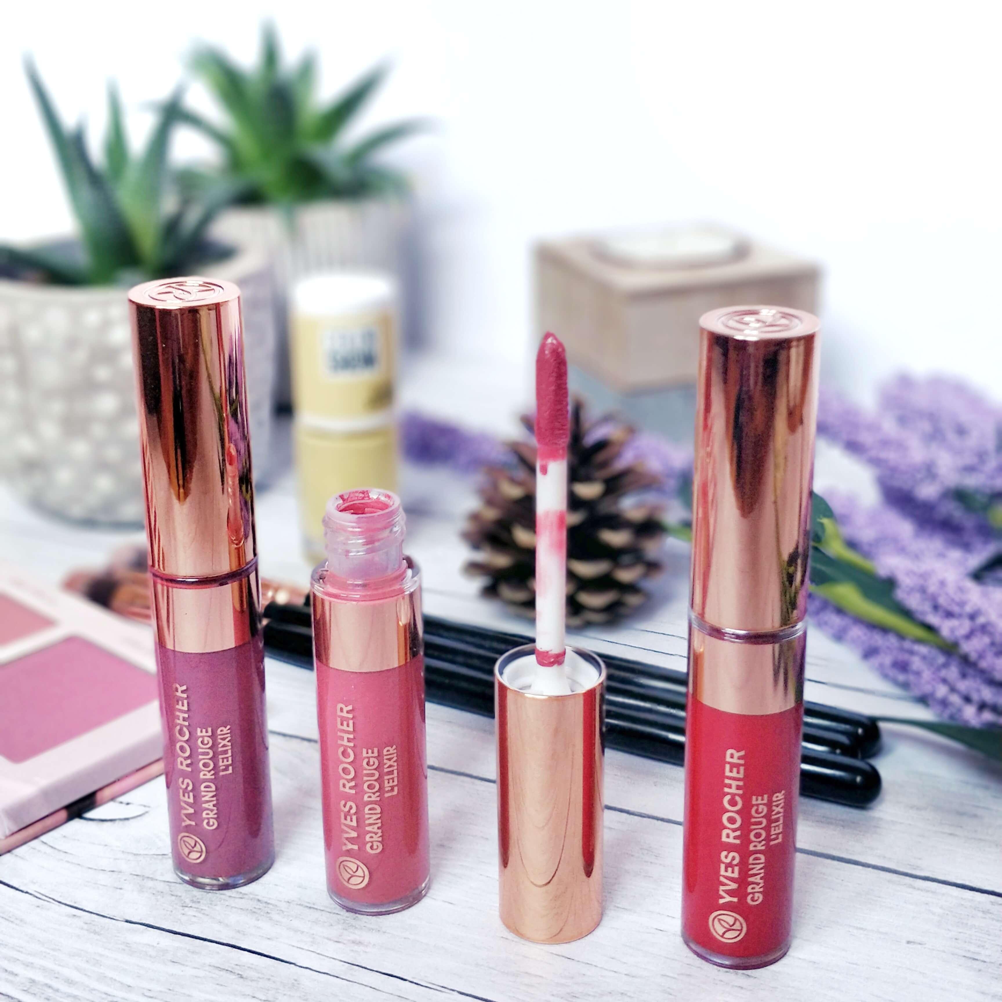 rouge à lèvres grand rouge yves rocher - Je teste une quarantaine de rouges à lèvres liquides !