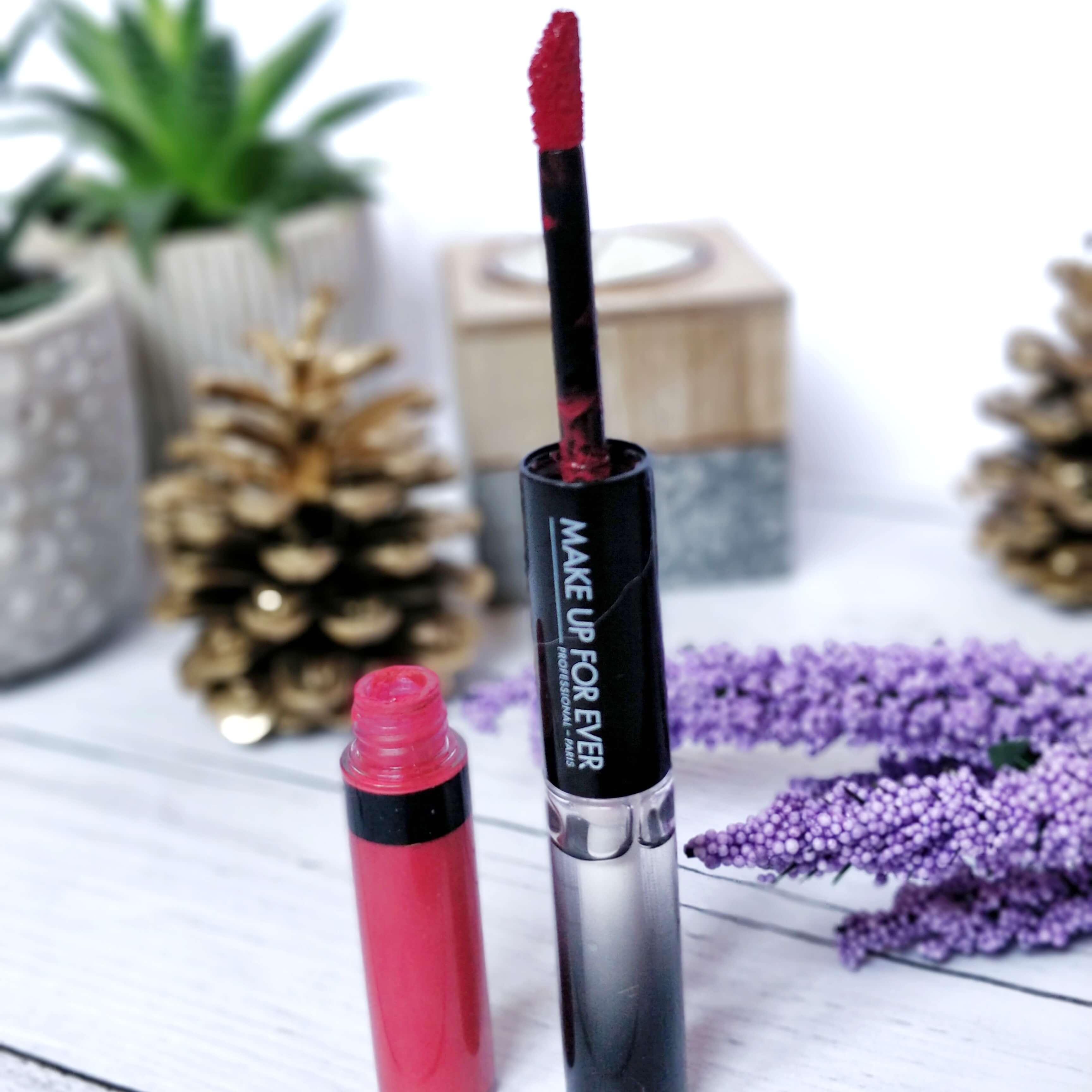 rouge à lèvres liquide make up forever - Je teste une quarantaine de rouges à lèvres liquides !