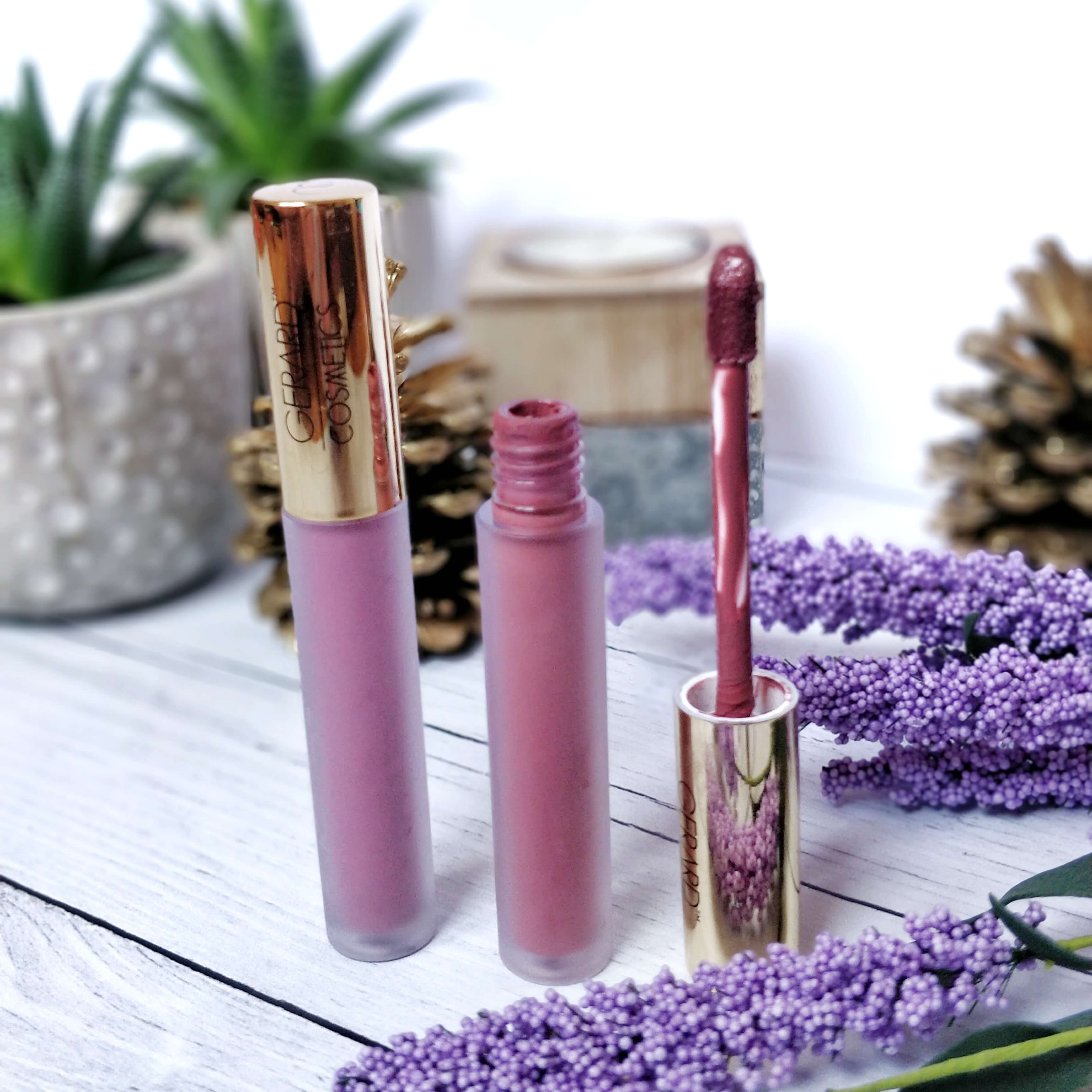 rouge à lèvres liquide matte gerard cosmetics - Je teste une quarantaine de rouges à lèvres liquides !