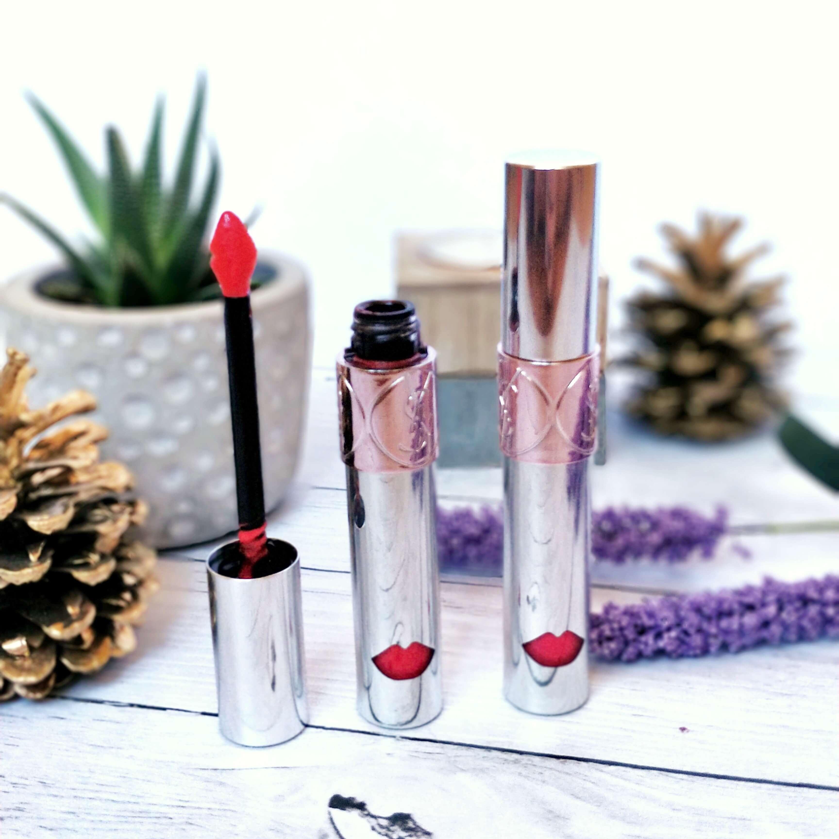 rouge à lèvres liquide ysl yves saint laurent - Je teste une quarantaine de rouges à lèvres liquides !