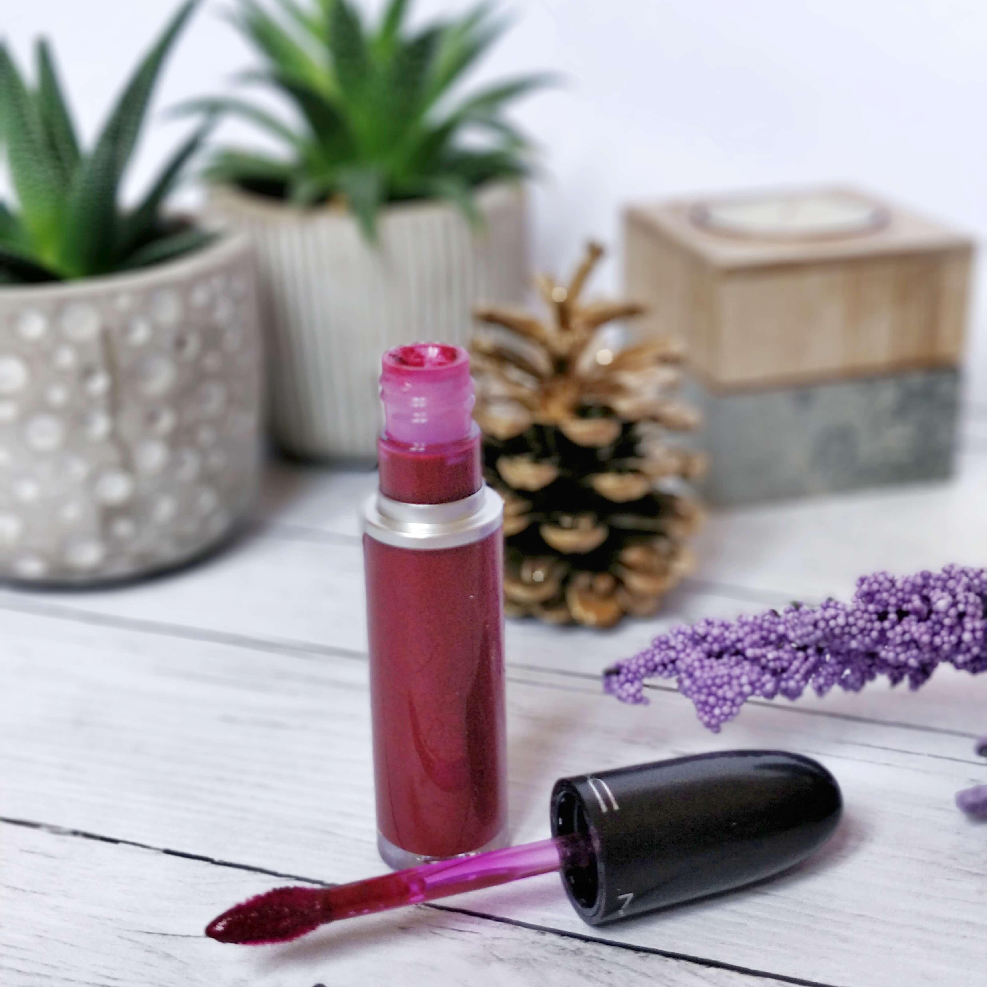 rouge à lèvres retro matte metallic mac - Je teste une quarantaine de rouges à lèvres liquides !