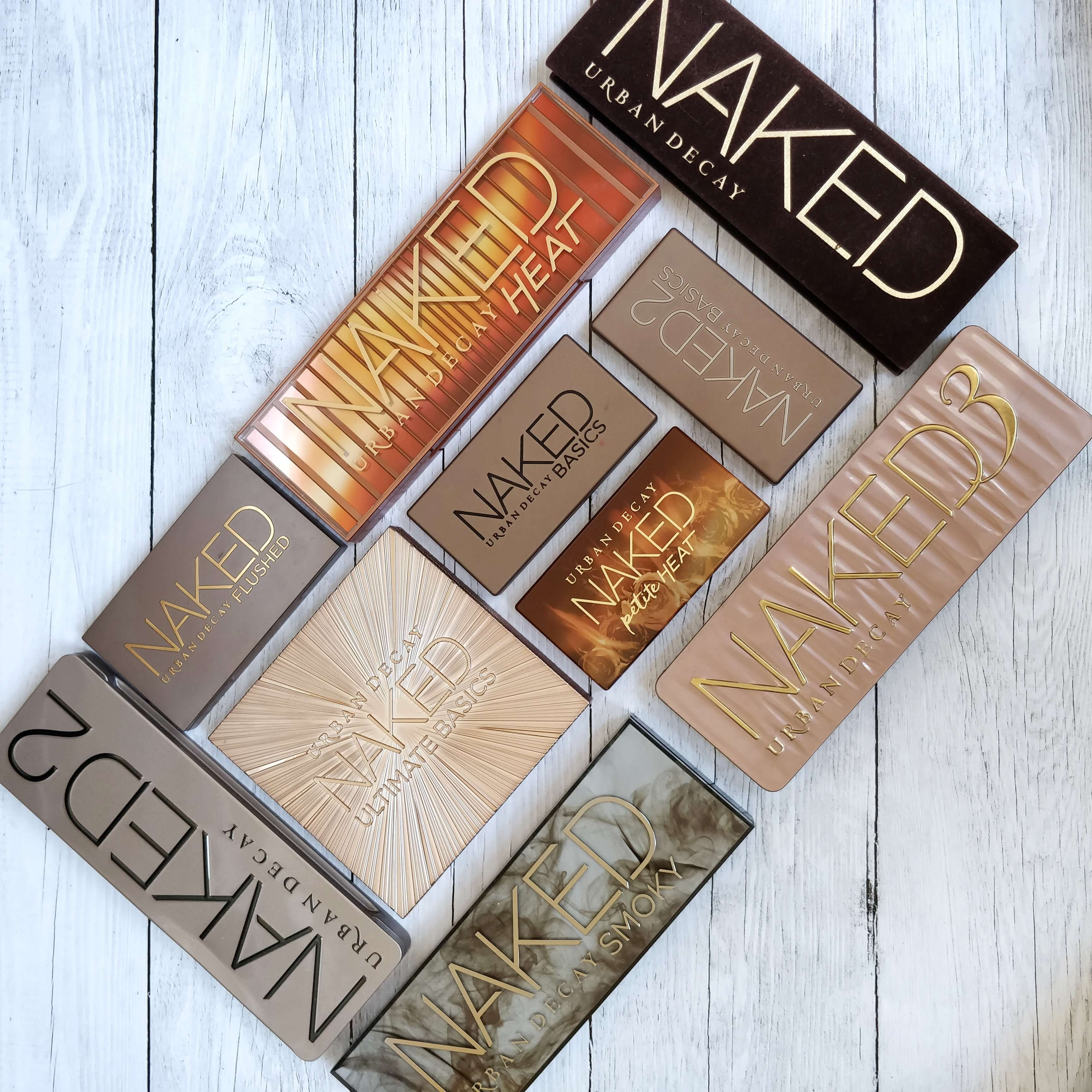 palettes naked urban decay collection - Ce qu'Instagram m'a fait acheter...