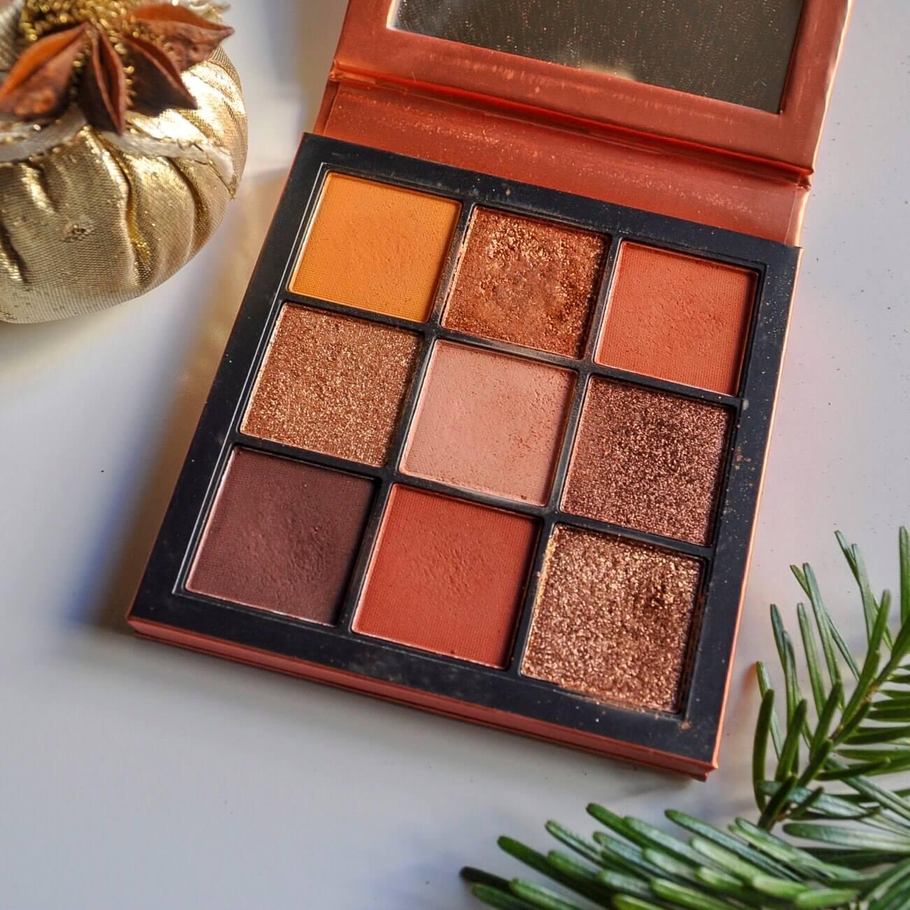 palette topaz obsession huda beauty - Un maquillage de fête avec Clara s'emballe