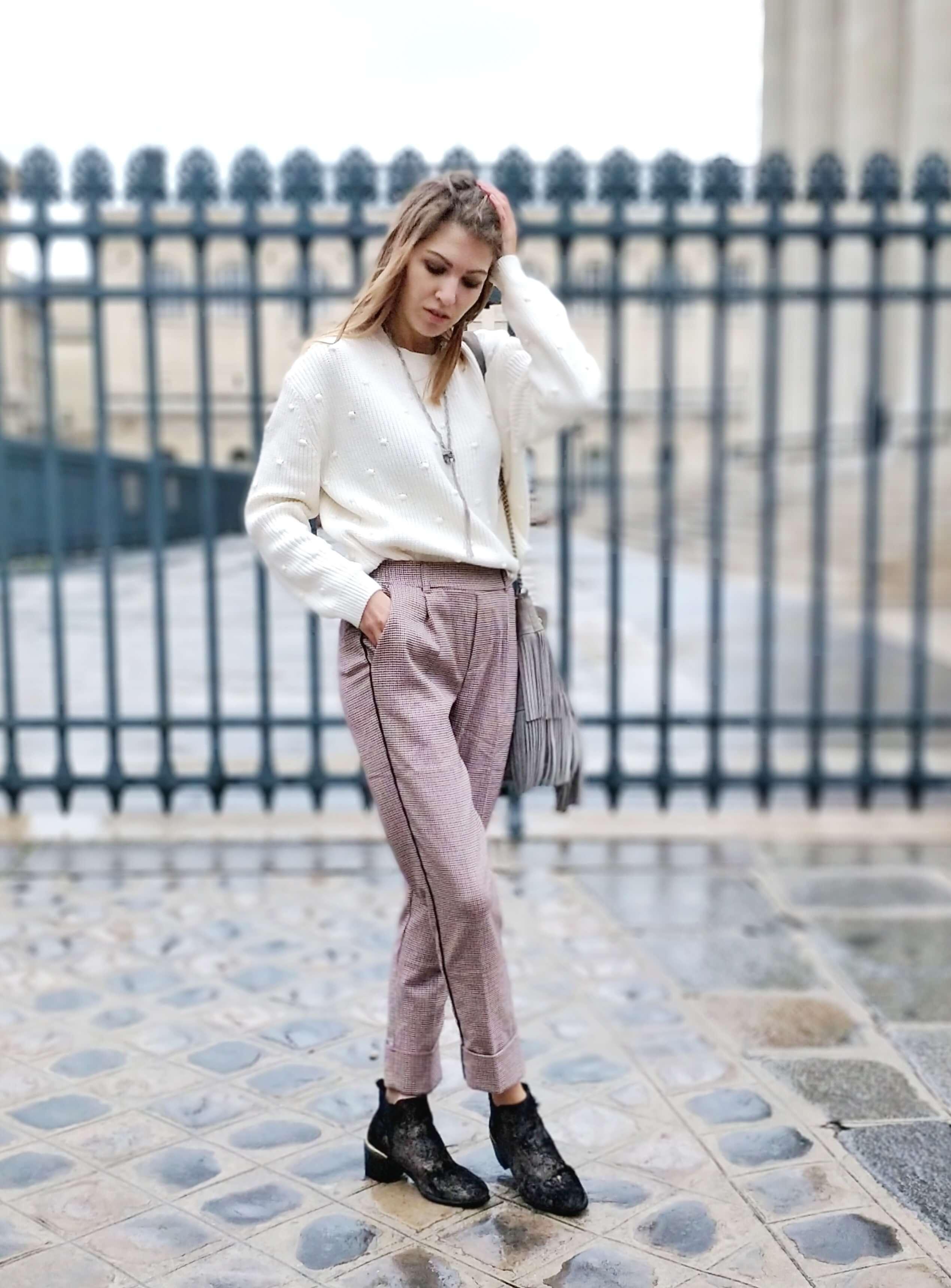 tenue automne blog paris 19 janvier mode - L'hiver en fausse fourrure