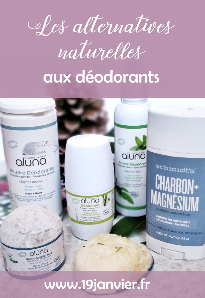 alternatives naturelles deodorants - Les alternatives naturelles aux déodorants