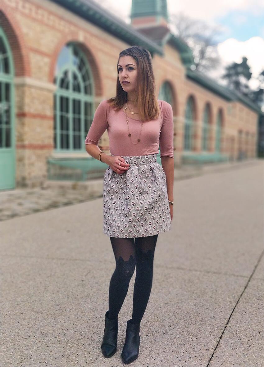 blog 19 janvier tenue jupe fait main - C'est encore plus beau quand c'est fait main