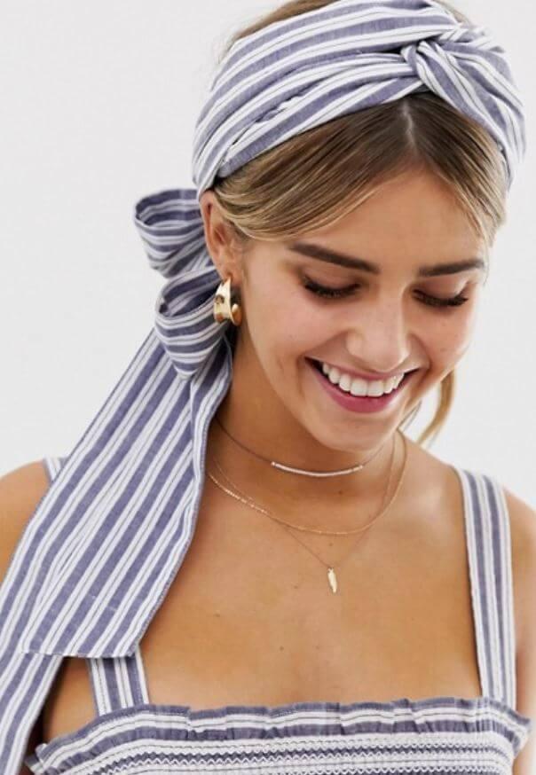 bandeau foulard asos - On accessoirise nos cheveux !