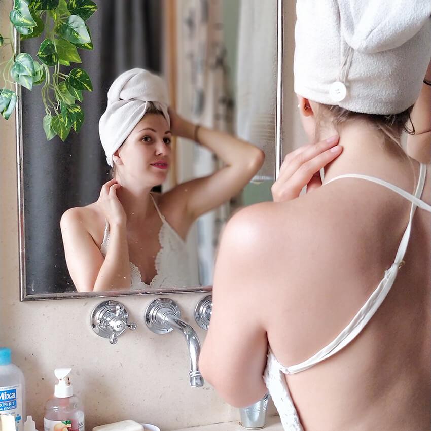 serviette seche cheveux blog - 5 achats qui ont changé ma vie