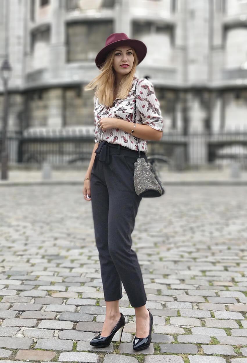 blog 19 janvier mode tenue paris montmartre - Garder le style en automne
