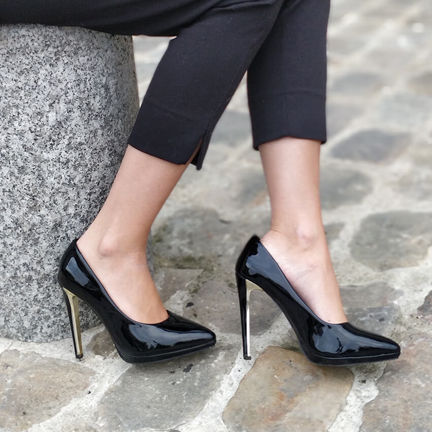 blog mode details chaussures escarpins - Garder le style en automne