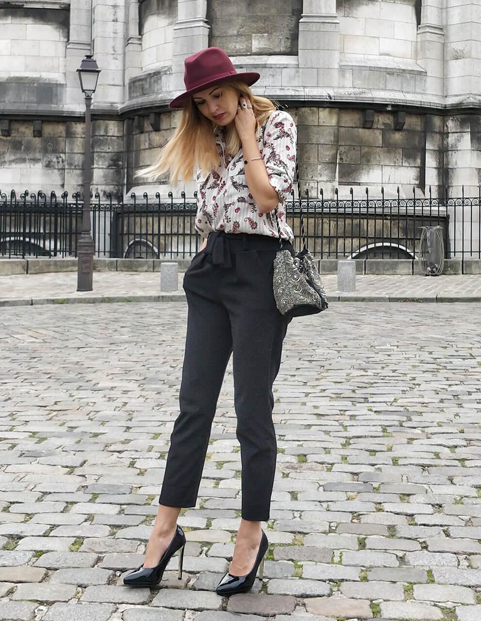 blog mode paris montmartre automne - Garder le style en automne